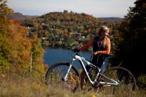 Vélo Pays-d'en-Haut automne